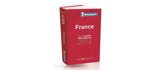 Le guide Michelin 2014